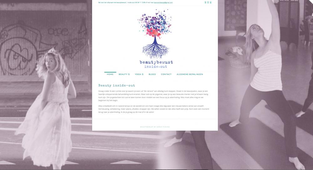 helma timmermans graphic design beautybewust website