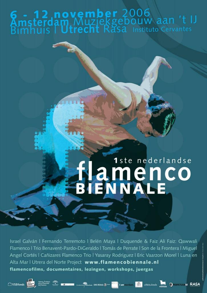 flamenco biennale poster 2006