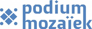 podium mozaiek logo