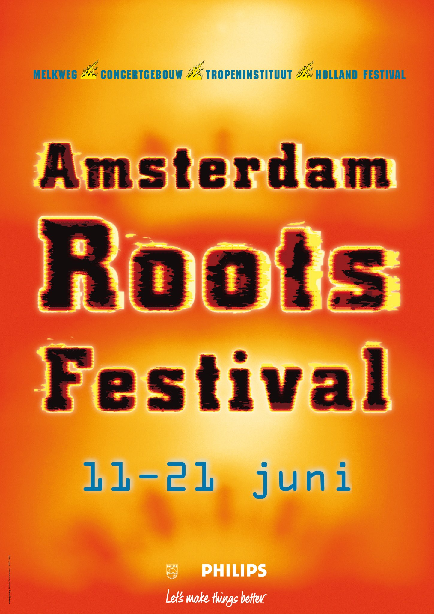 amsterdam roots festival poster