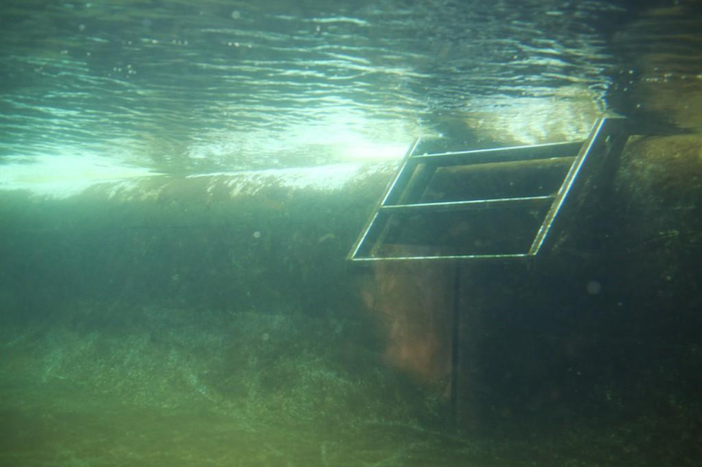 stairs underwater